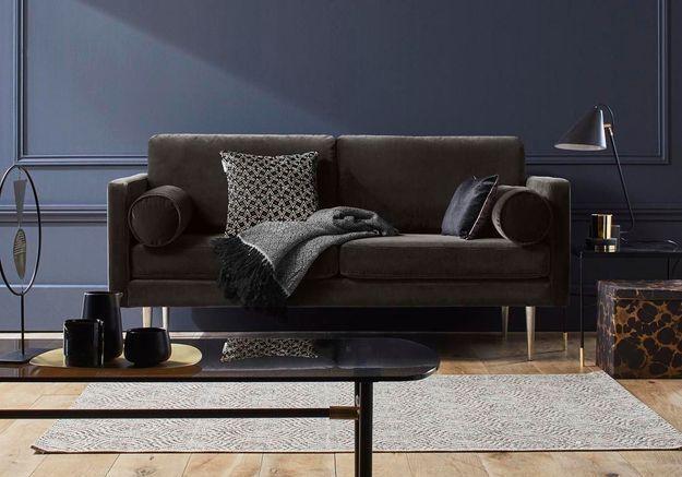 Canapé en velours Madura