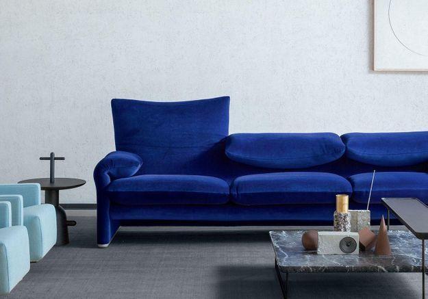 Le canapé «675 Maralunga » de Vico Magistretti pour Cassina