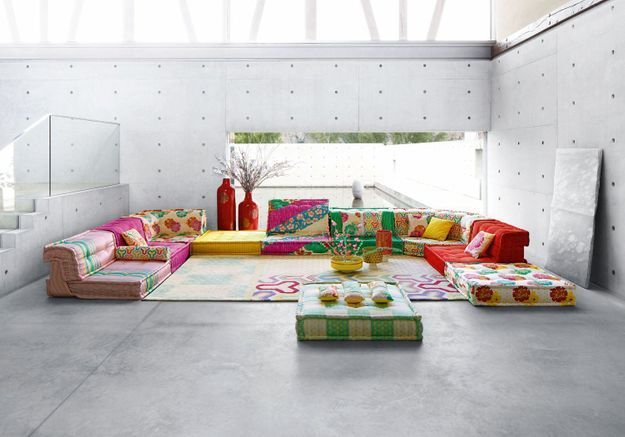 Le canapé « Mah Jong » de Hans Hopfer pour Roche Bobois