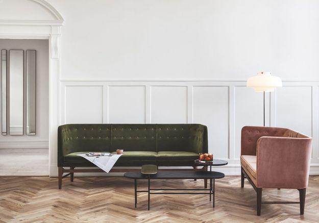 Le canapé « Mayor AJ » de Arne Jacobsen et Flemming Lassen pour &Tradition