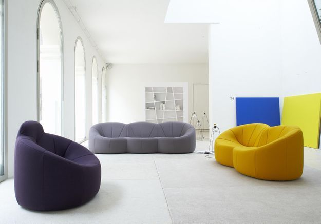 Le canapé « Pumpkin » de Pierre Paulin pour Ligne Roset