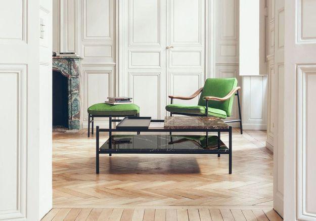 Table basse de luxe Versant Edition