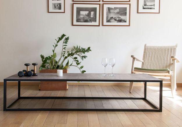 Table basse démesurée Produit Interieur Brut