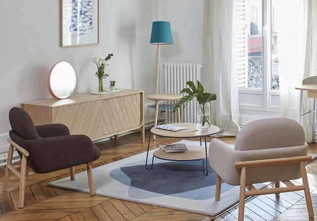 Table basse scandinave Hartô