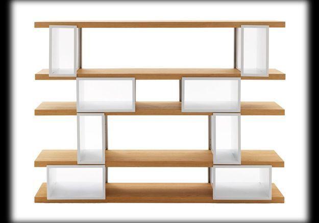 biblioth ques 14 id es pour cloisonner l espace elle d coration. Black Bedroom Furniture Sets. Home Design Ideas