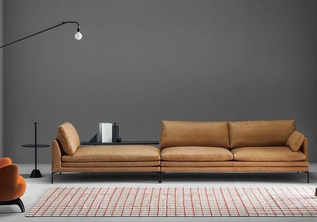 Le retour du canapé en cuir !