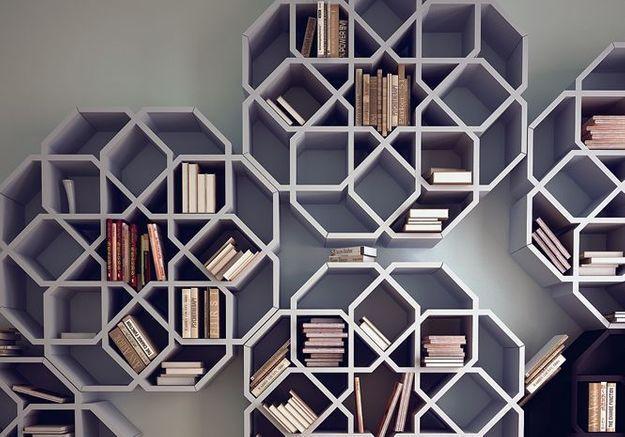 Biblioth ques design et originales elle d coration - Salon du meuble nantes ...