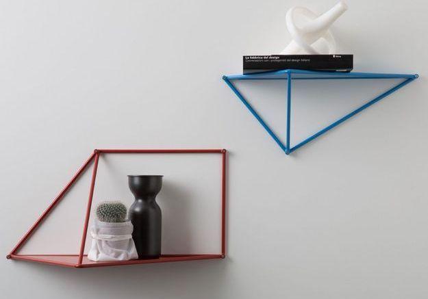 Étagère origami