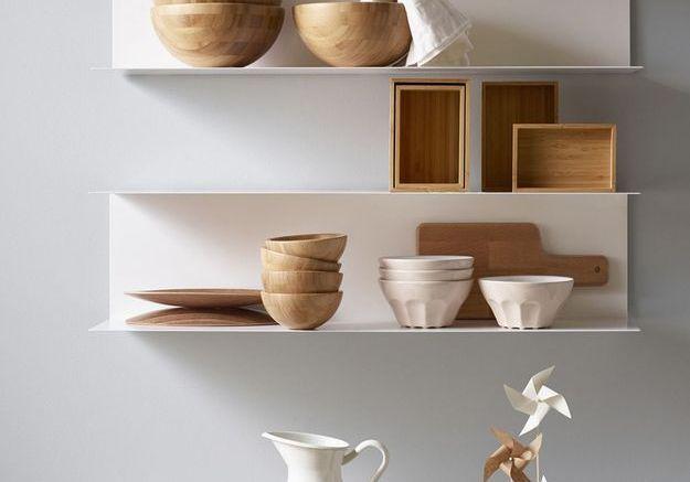 Étagères minimalistes