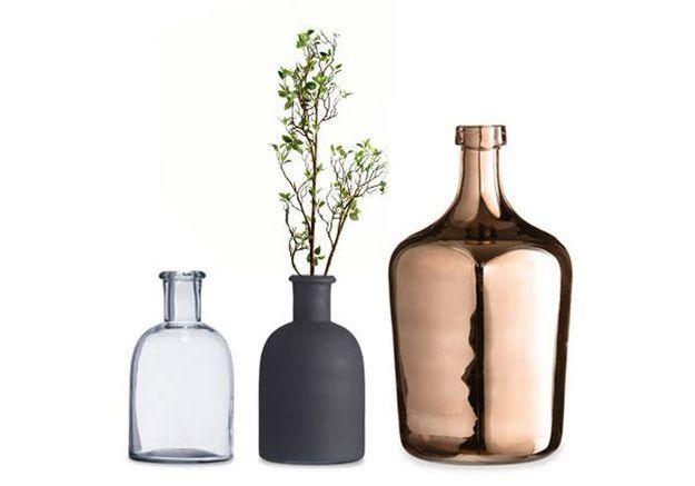 Des vases pour la petite déco