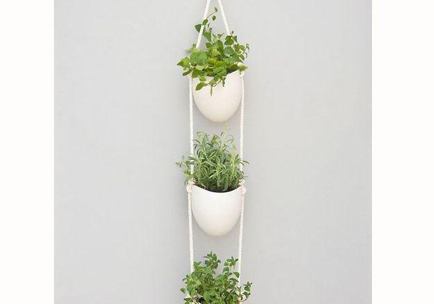 Planteur en porcelaine