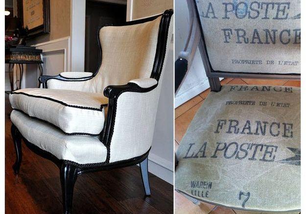 Un fauteuil de style
