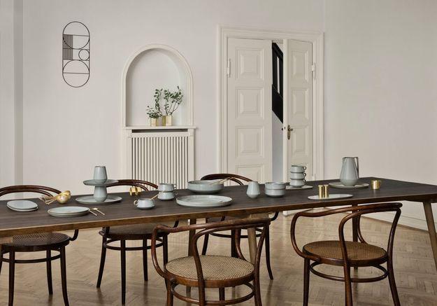 Une salle à manger rustique chic