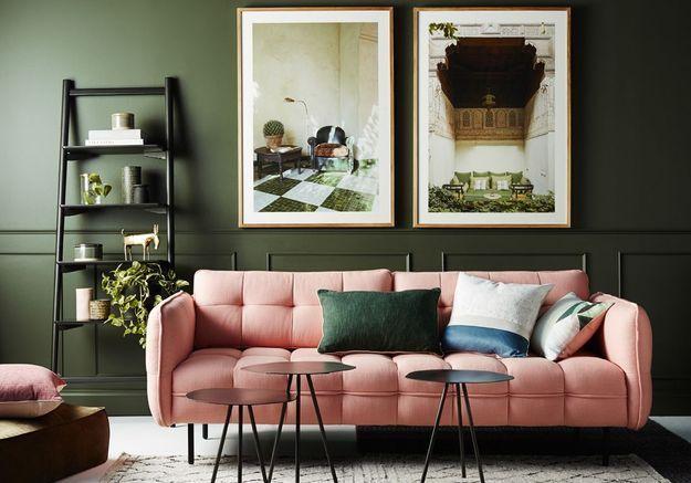 Adoptez le bon canapé pour un salon cocooning