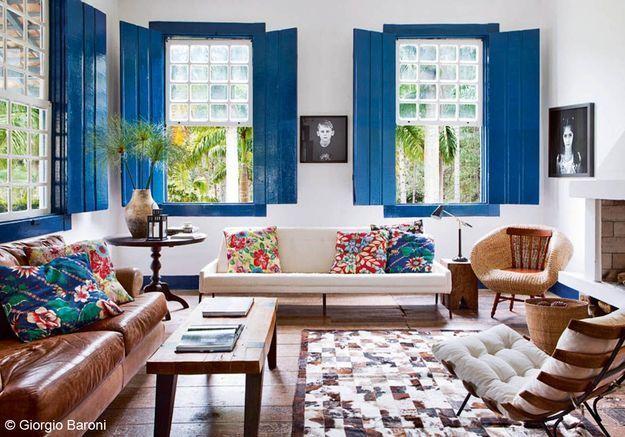 Salon bleu Klein