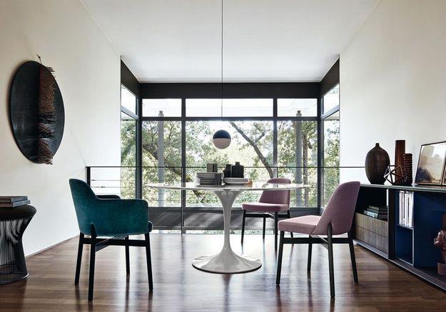La table Tulipe dans une univers african chic