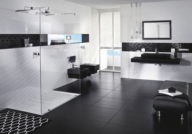 1. L'aménagement d'une salle de bains design
