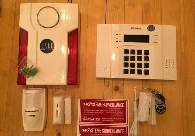 Les équipements de l'alarme à monter soi-même