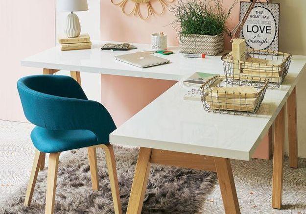 Coin bureau nos idées pour aménager un petit bureau à la maison