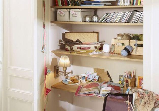 Un bureau dans une niche
