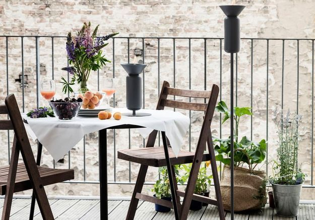 Le home staging sur le balcon