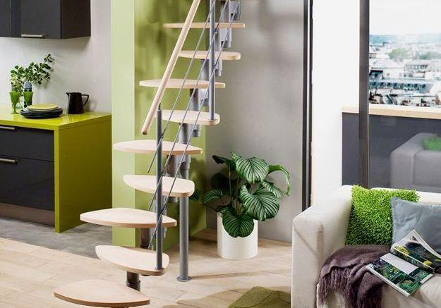 L'escalier à pas japonais, la bonne alternative aux échelles