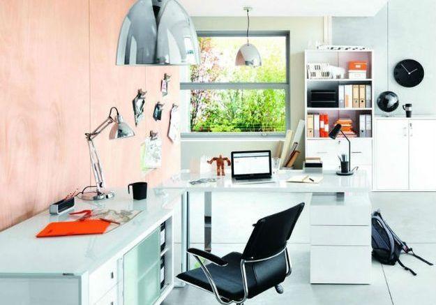 nos conseils pour bien clairer son bureau elle d coration. Black Bedroom Furniture Sets. Home Design Ideas