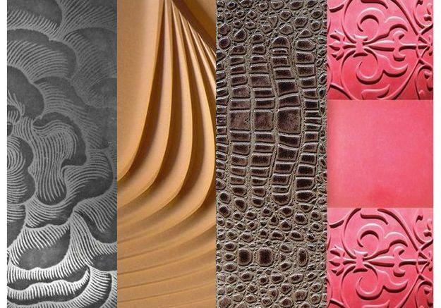 Les bétons texturés et innovants