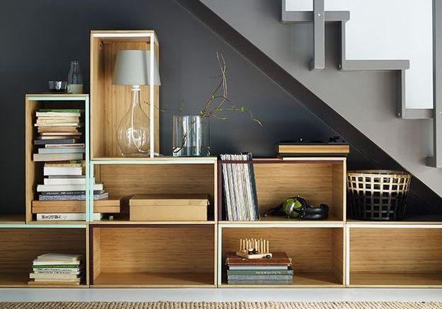16 idées déco pour ne pas perdre d'espace sous l'escalier