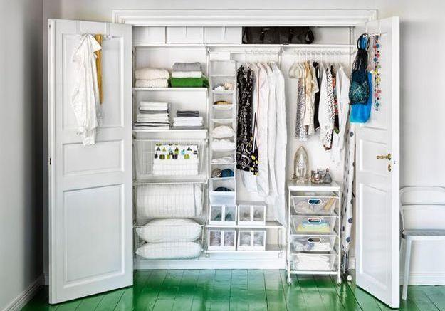 15 Idées De Dressings Pour Un Petit Appartement Elle Décoration