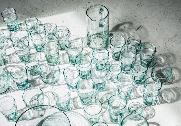 Des verres traditionnels marocains pour une déco cocooning