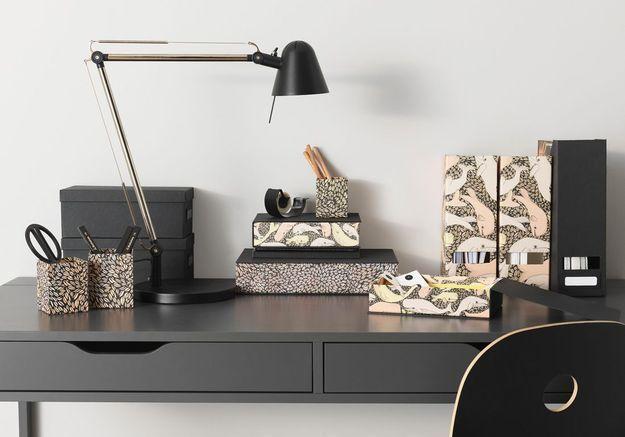 Boîte à motifs Ikea