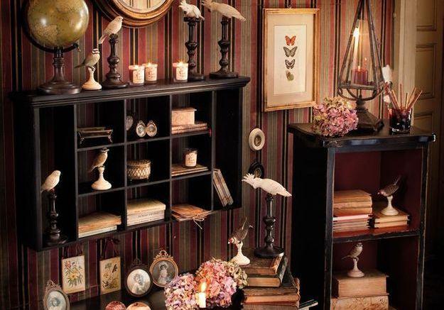 D co cabinet de curiosit s elle d coration - Deco cabinet de curiosite ...
