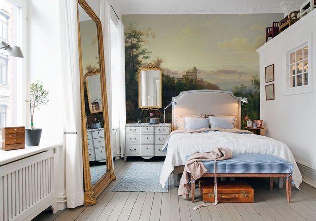 Un papier peint panoramique dépaysant pour une décoration cosy