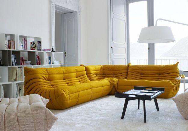 Des canapés 100% confort pour une décoration cosy