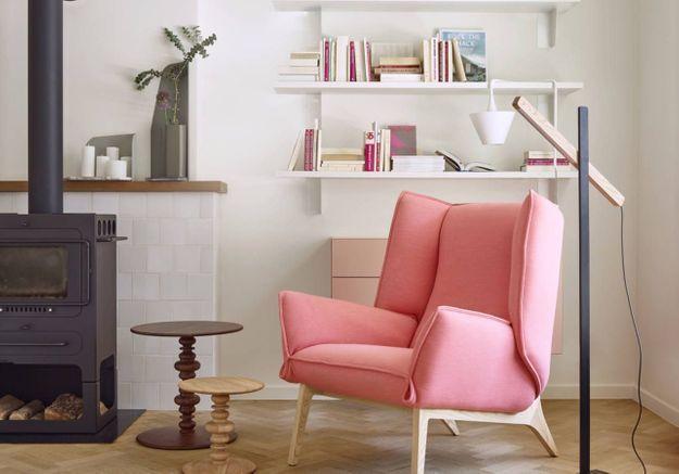 Un fauteuil enveloppant pour une décoration cosy