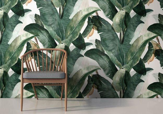 Un papier peint dépaysant pour une décoration cosy