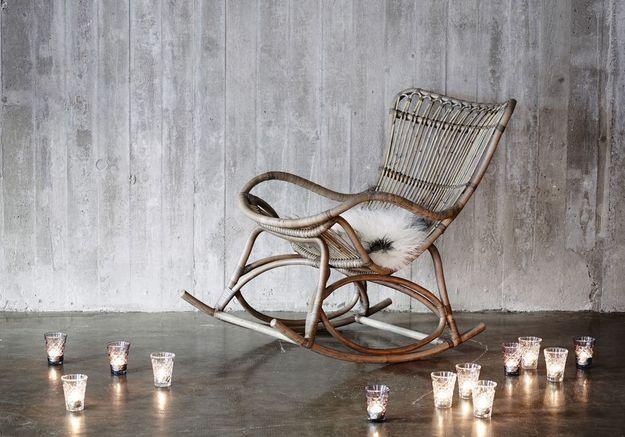 Un rocking chair pour une décoration cosy