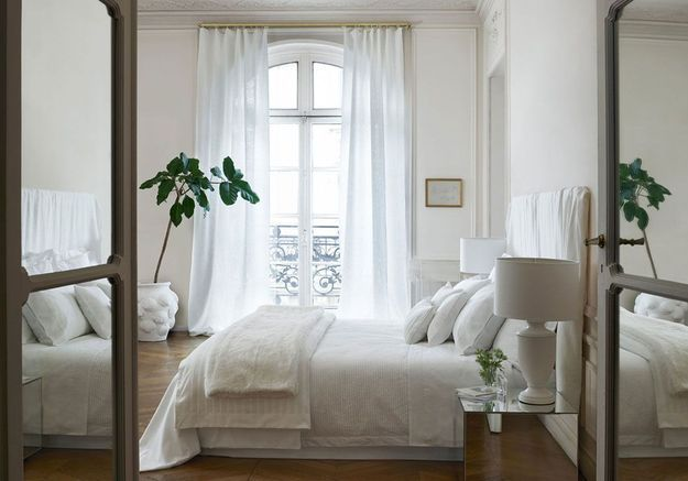 Un total look blanc pour une décoration cosy