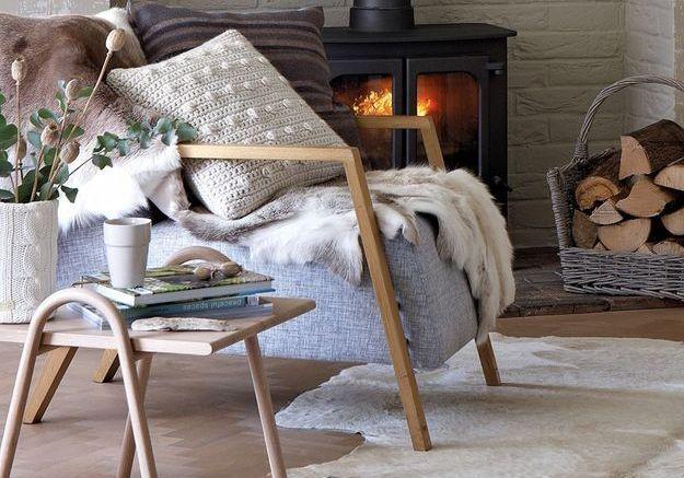 Des matières douces sur les fauteuils