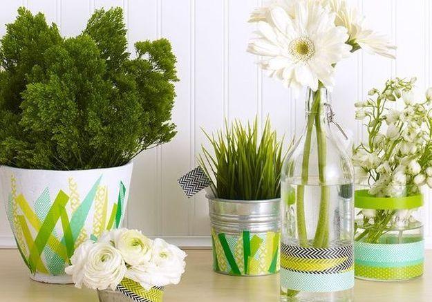 Personnaliser ses pots de fleurs