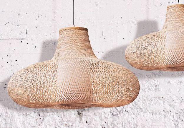Suspensions en bambou