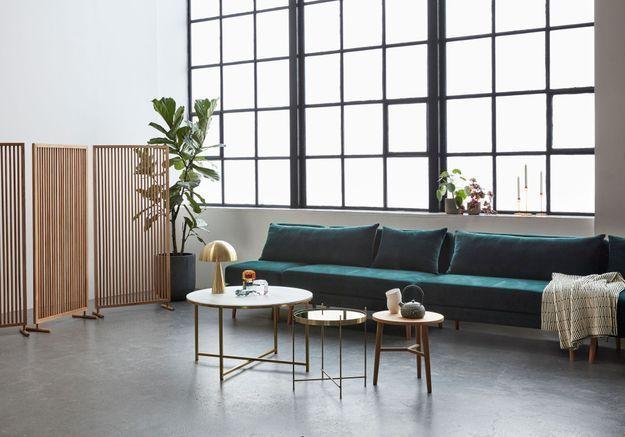 Le mobilier en velours