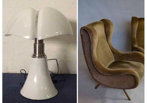 Quel mobilier design peut-on trouver ?