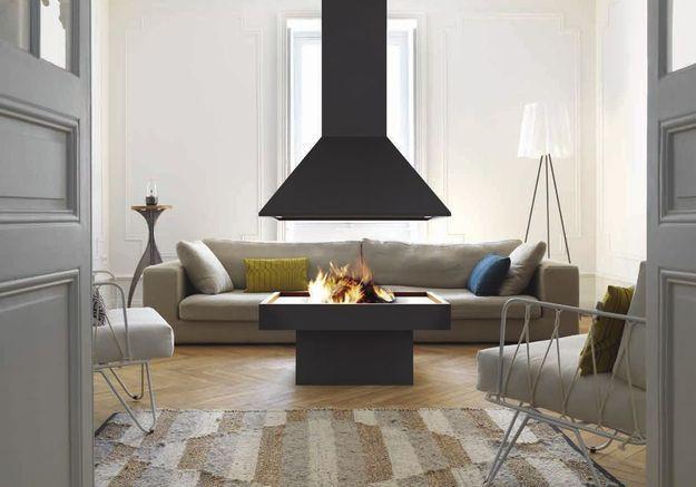 Une cheminée moderne pour une touche design à la maison