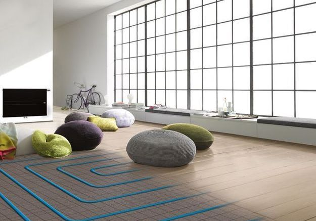L'installation du plancher chauffant