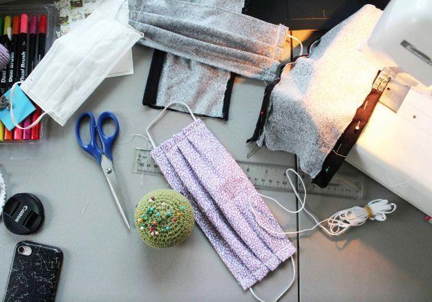 DIY : comment confectionner son propre masque en tissu