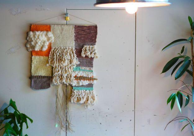 #DIY : comment faire un tissage mural ?