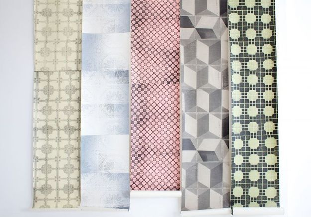 Papier peint Trompe-l'œil, Unility Tiles, The Collection