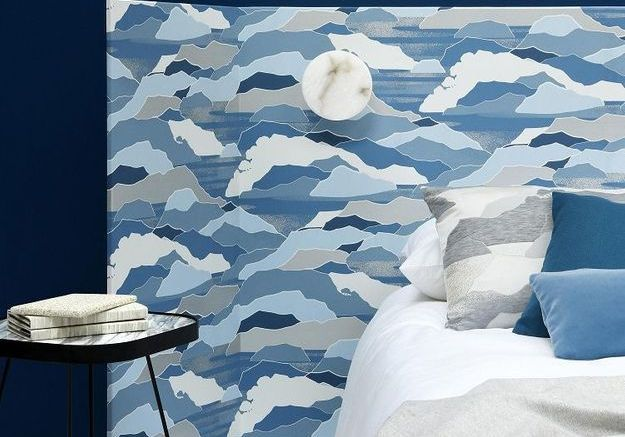 15 id es bluffantes pour recycler ses chutes de papier peint elle d coration. Black Bedroom Furniture Sets. Home Design Ideas